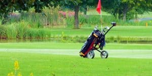 best golf bag for push cart