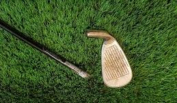 flighted golf shaft
