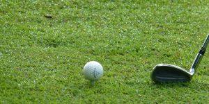golf ball size